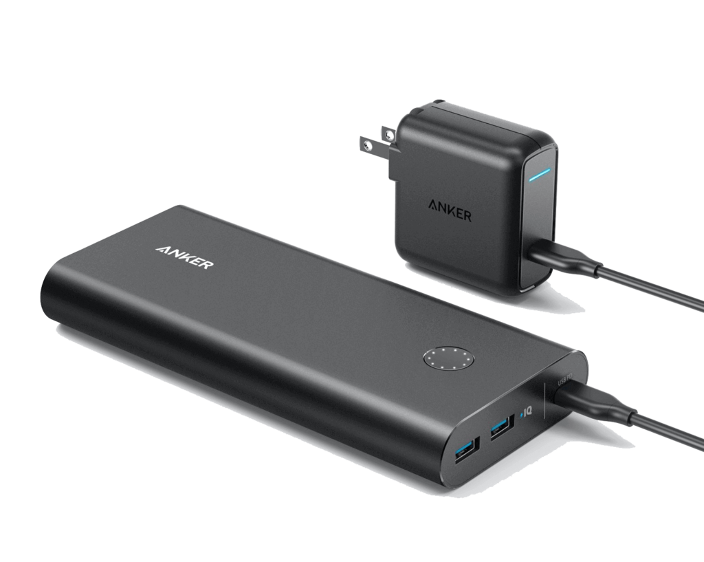 Portable Charger Anker Power Core+  26800mAh