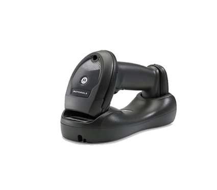 Zebra Symbol (Formerly Motorola Symbol) LI4278 Wireless 1D Barcode Scanner, with Cradle and USB Cable
