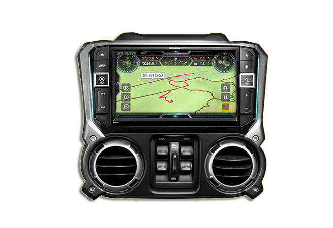 Alpine X209-WRA-OR Weather Resistant Car Navigation System
