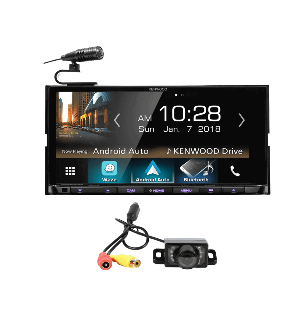 "Kenwood DDX9705S 6.95"" Navigation GPS DVD Bluetooth Receiver+Backup Camera"