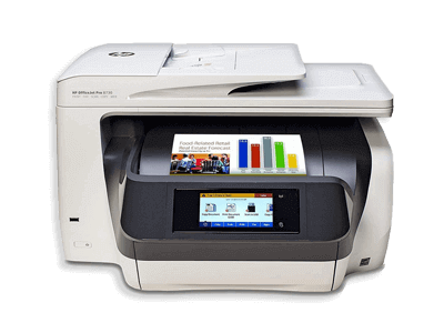 HP Officejet Pro 8730 D9L20A Wireless All-In-One Color Printer