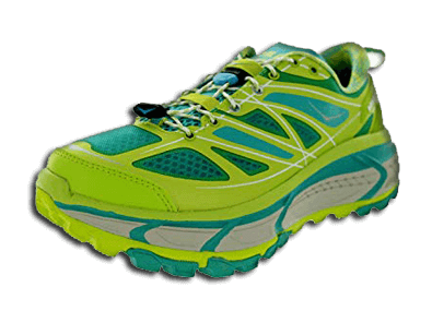 Hoka One Women's Mafate Speed Running Shoes Acid