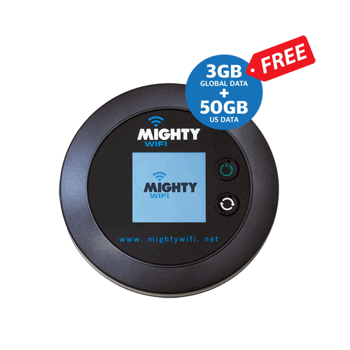 Mighty Global Pocket Hotspot Wifi International roaming
