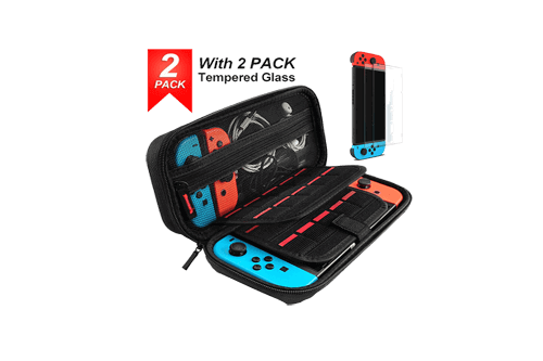 Nintendo Switch Case with Screen Protector