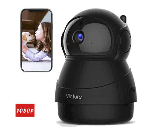 Victure 1080P FHD WiFi IP Camera Indoor Wireless Security Camera