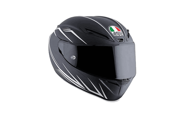 Full face motorcycle helmet ventilation features