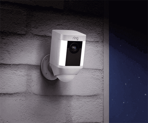 Ring Spotlight High Definition Security Camera