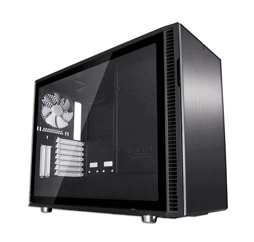 Fractal R6 TG Mid Tower Gaming Case