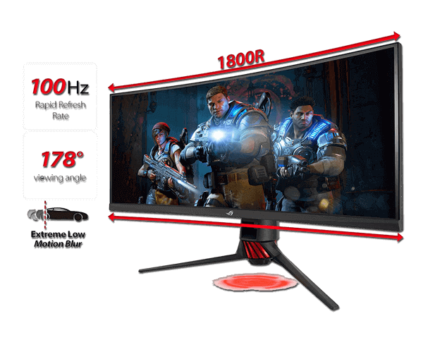 35 Inch Curved Gaming Monitor
